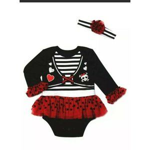 Way To Celebrate Halloween Girly Pirate 6-9 Month